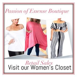Other - Visit our Women's Closet @passionboutique